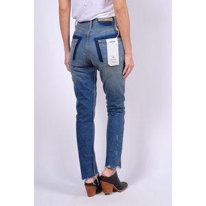 GRLFRND Karolina High Rise Crop Jeans 27
